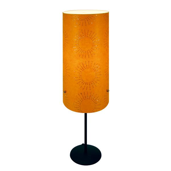 lampe pied soleil orange lumi res du monde paris. Black Bedroom Furniture Sets. Home Design Ideas