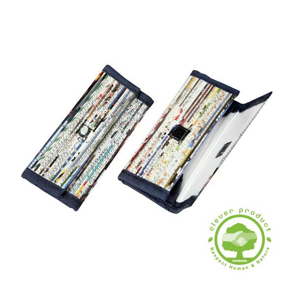 porte monnaie petit en papier recycl lumi res du monde paris. Black Bedroom Furniture Sets. Home Design Ideas