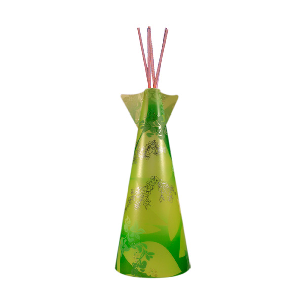 lampe tipi ibiscus citron vert et vert de 50 cm lumi res du monde paris. Black Bedroom Furniture Sets. Home Design Ideas